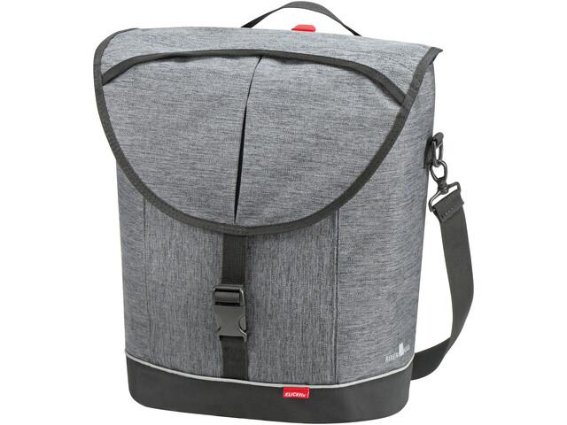 KlickFix Cita 2 Pannier Bag, szary